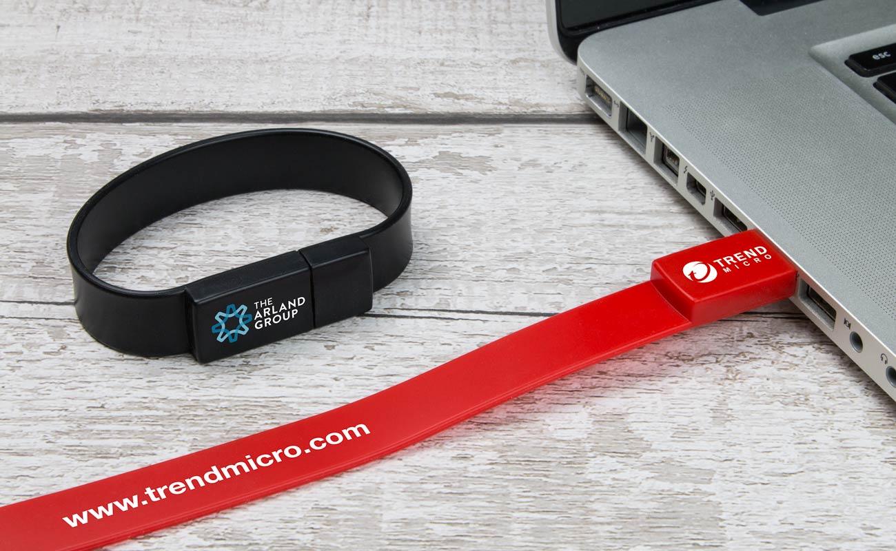Lizzard - Custom USB Wristbands