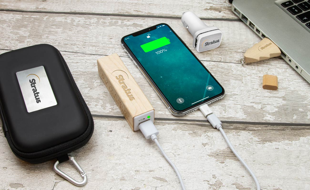 Noel M - Custom USB, Credit Card Power Bank and Promotional Car Charger