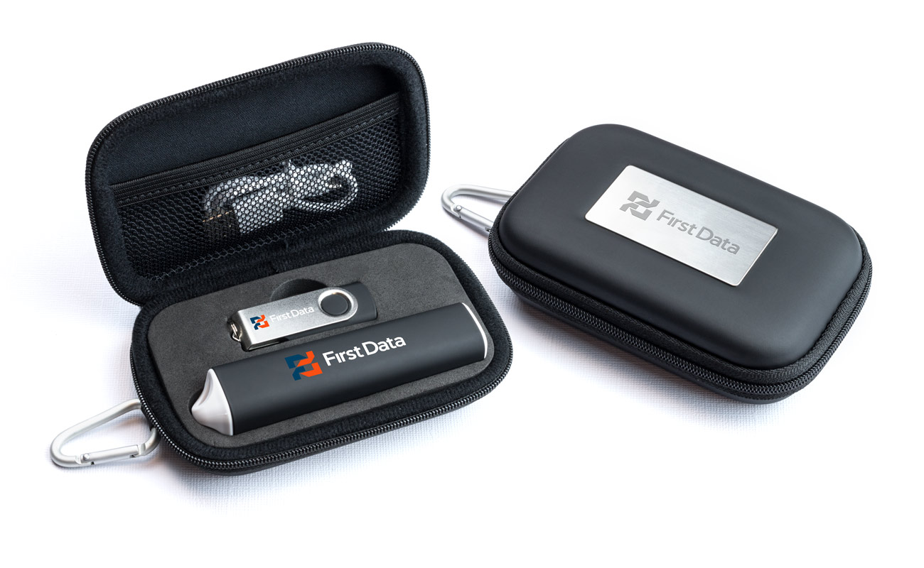 Pure S - Custom USB and Credit Card Power Bank