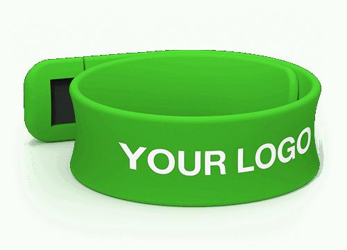 Slap - Custom USB Wristbands