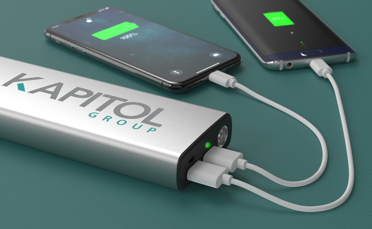 Titan - Logo Branded Power Bank