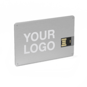Usb business cards printed with your logo alloy usb business card reheart Images